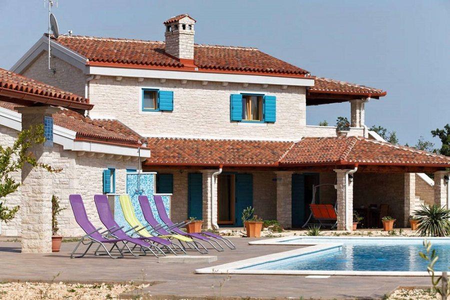 Vila Primosten s bazenom