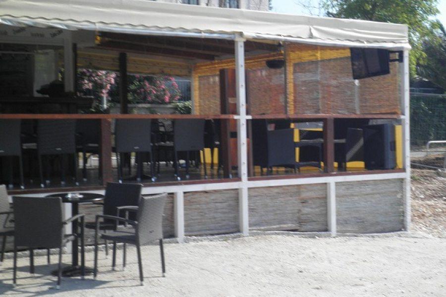 Coffee bar at the beach