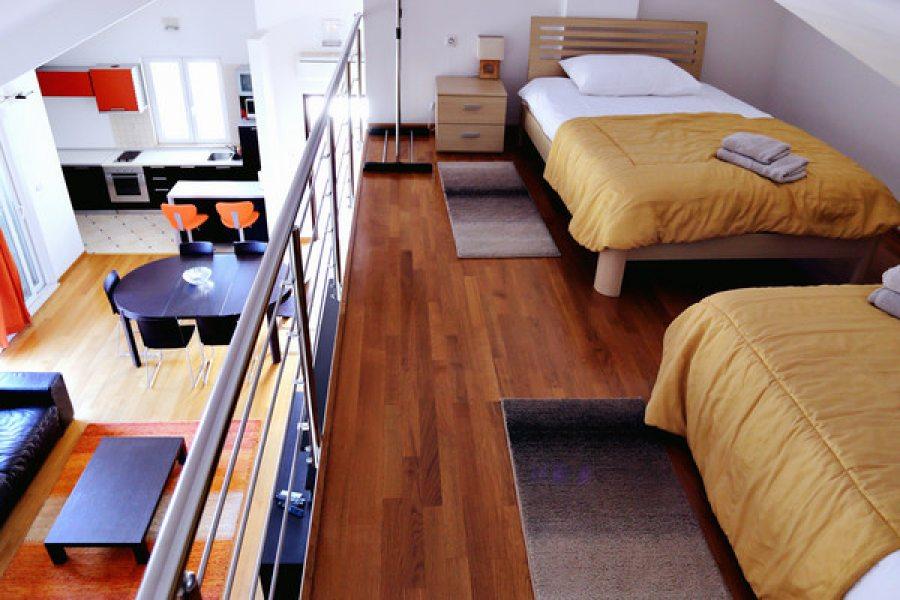 Apartment standard 6+2 - Twin bedroom