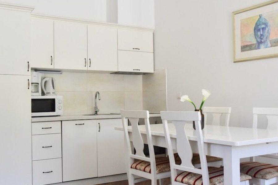 Kitchen in comfort studio 2+1