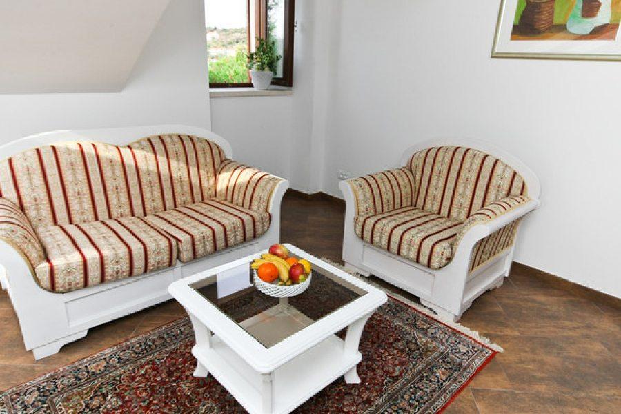 Living room in 4+1 ap.