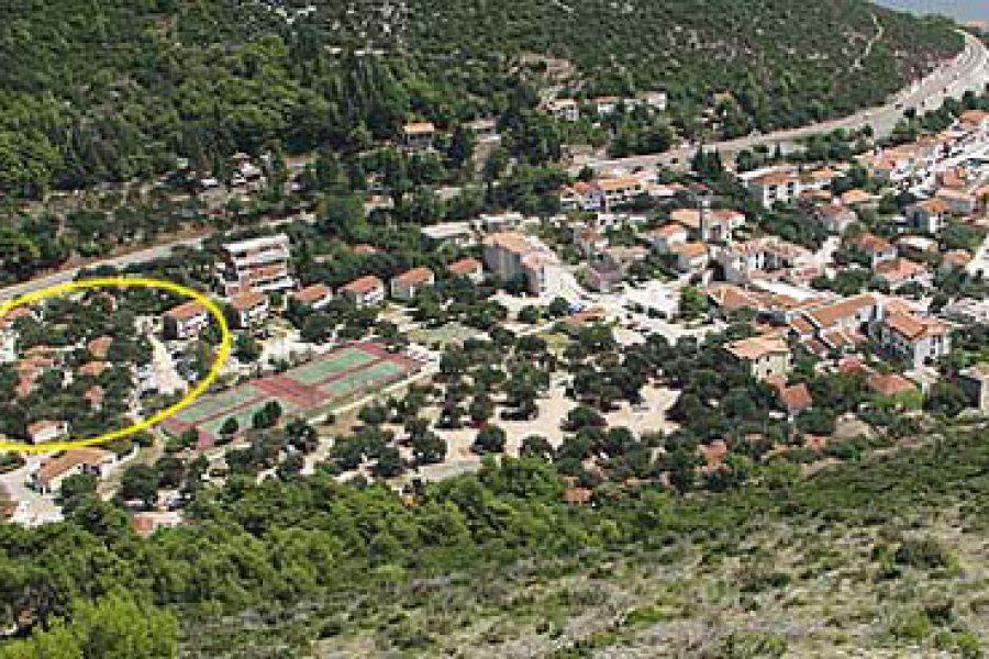 Location of apartments Bonaca