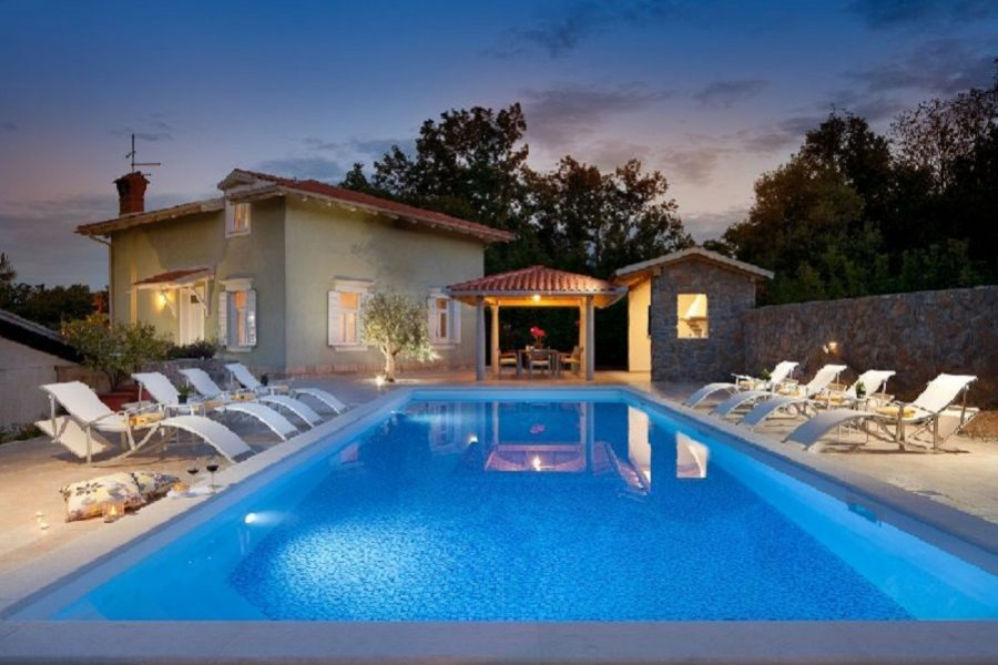 Villa Fiume con piscina